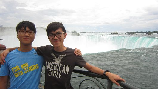 Student Ambassadors in St. Jacobs and Niagara Falls