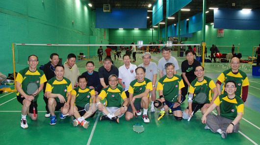 Badminton Games with La Salle College Old Boys Association