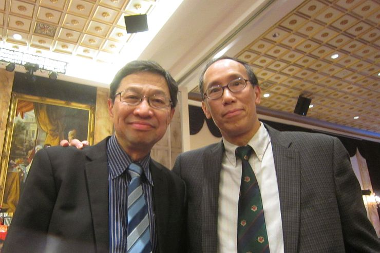 Roger Cheung and Jeff Mah