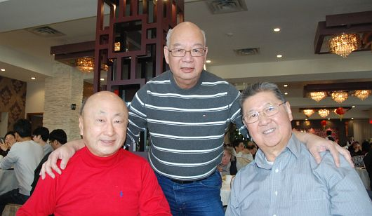Lunch with Tony Fong ('65)