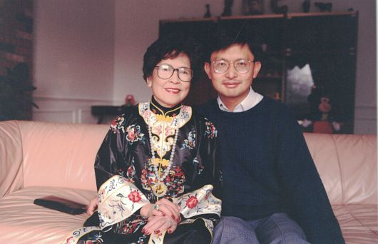 James Tong and Mom