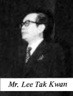 Mr. LEE Tak Kwan